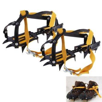 HKS Ski Snow Belt High Altitude Hiking Climbing Slip-resistant Strong Crampon - Intl