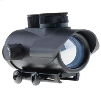 Harga Tactical Reflex 30mm Blue Green Red Dot Sight Scope w/ Picatinny Weaver Mount - intl