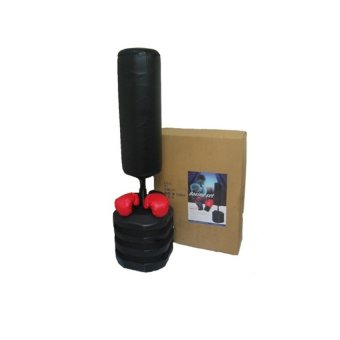 Harga Muscle Power 82-932g Stand Alone Punching Bag (Black)