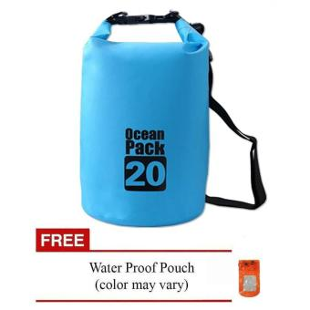 20L Waterproof Dry Bag (Blue) Price Philippines