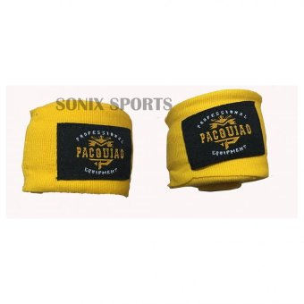 Harga MP Manny Pacquiao Elastic Handwraps 5 Meters (Yellow)