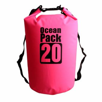 20L Waterproof Dry Bag (Pink) Price Philippines