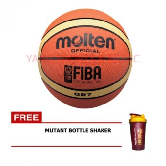Molten Official GR7 Basketball Fiba FREE Mutant Bottle Shaker Price Philippines