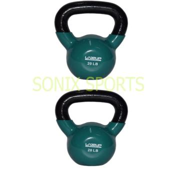 Harga Live Up Kettlebell Kettle Bell Exercise Weight 20 LBS (Set of 2)