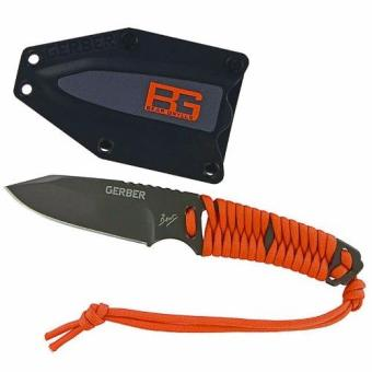 Harga BG Gerber Paracord Fixed Blade Knife Full Tang Stainless Steel Construction