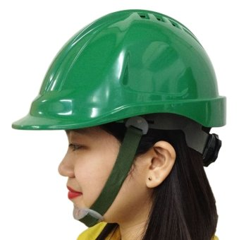Meisons Safety Helmet Hard Hat Abs With Airflow (Green) Price Philippines