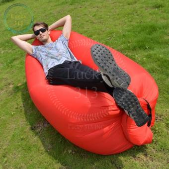 FAST INFLATABLE BANANA BED (RED) Price Philippines