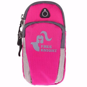 Harga Free Knight Universal Arm Band Bag Case for Running Jogging (Pink)