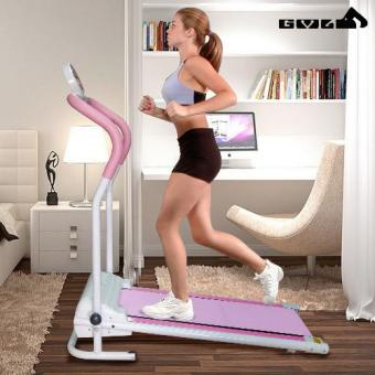 Foldable Motorized Home Treadmill (Pink) Price Philippines