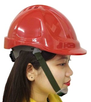Meisons Safety Helmet Hard Hat Abs With Airflow (Red) Price Philippines