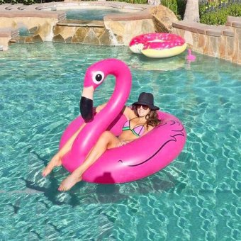 Adult Floaties Flamingo Inflatable Swimming Seat Water Seat Lifebuoy Price Philippines