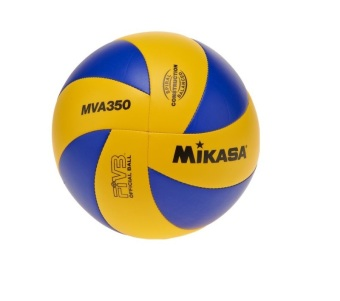 Harga Mikasa MVA350 Volleyball (Yellow/Blue)