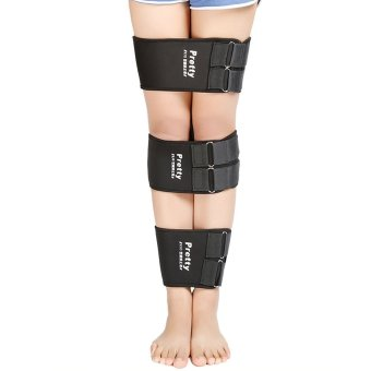LETSBAY Leg Correction Belt Adjustable Authentic Bandages to Correct O- type Legs X-type Legs 3 Kits Velcro Leg Band Strap Available O Form X Legs Form Correction Ban (SIZE L) - intl Price Philippines