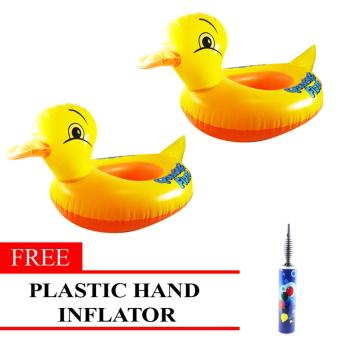 MMC Inflatable Lifebuoy Swim Ring Duck Set of 2 with Free Plastic Hand Inflator Price Philippines