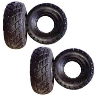Harga Qing Da 19x7.00-R8 ON ROAD ATV Tires Set of 2 ( 2 Pcs Tires Only)