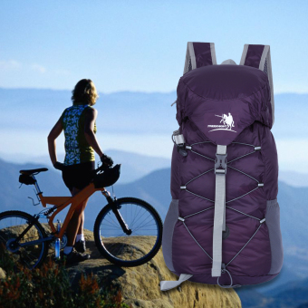 Harga Free Knight 20L Shoulder Bag Travel Mountaineering Folding Package(Purple) - intl