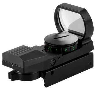 Harga Fancytoy Hunting Tactical Reflex Holographic Red Green Reticle Sight Dot Rail Mount
