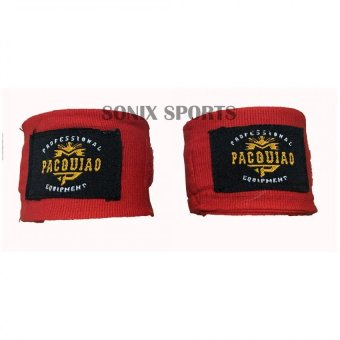 Harga MP Manny Pacquiao Elastic Handwraps 5 Meters (Red)