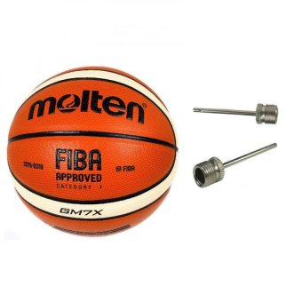 Molten GM7X X-Series Indoor/Outdoor Basketball Fiba Approved (Orange) with Basketball Pin Price Philippines