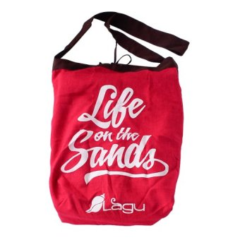 Harga Lagu Vino Beach Bag (Red)