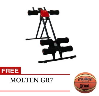 Xtreme Ab Generator (Red/Black) with FREE Molten GR7 Price Philippines