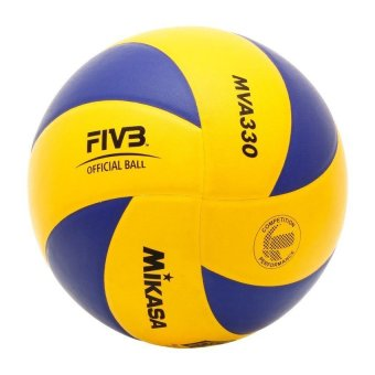 Harga Mikasa MVA 330 Volleyball (Blue/Yellow)