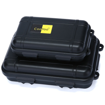 leegoal Dry Storage Box Waterproof Floating Survival Dry Case - Small, Black Price Philippines