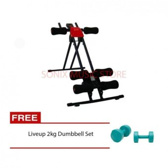 Harga Ab Generator with FREE Live up 2kg Dumbbell Set
