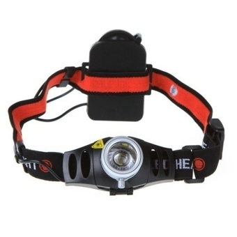 Harga 500 Lumen CREE Q5 LED Headlamp Headlight Zoomable Camping Bright Light