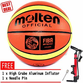 Molten Official GR7 Fiba Basketballs with Free Air Inflation and Pin Price Philippines