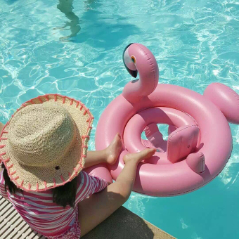 Baby Flamingo Inflatable Swimming Seat Water Seat Lifebuoy Price Philippines