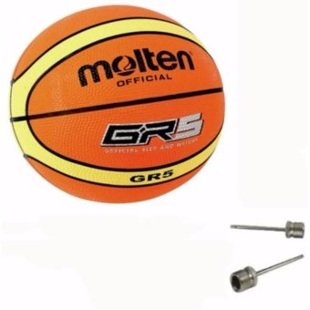 Molten GR5 Basketball (Orange) Free 2x Pin Price Philippines