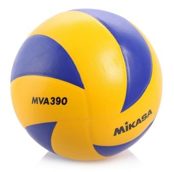 Harga Mikasa MVA390 Volleyball (Yellow)