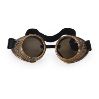 Vintage Rustic Cyber Goggles Steampunk Welding Goth Cosplay Photos Price Philippines