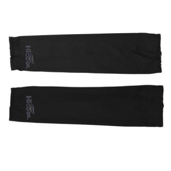 Harga OEM UV-Protection Arm Sleeve Cover - Hitam
