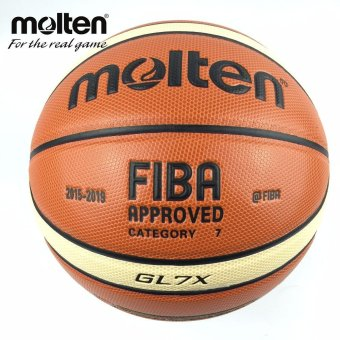 Unique New Season 2015-2019 Official Original Molten Basketball Ball GL7X Ball NEW Arrival Molten PU Size 7 Basketball Gifts Net Needle - intl Price Philippines
