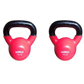 Harga Live up Kettlebell 15lbs (Set of 2)