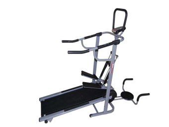 Harga Muscle Power 8022 4-in-1 Magnetic Manual Treadmill