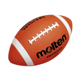 Molten American Football Rubber Official Size (Orange) Price Philippines