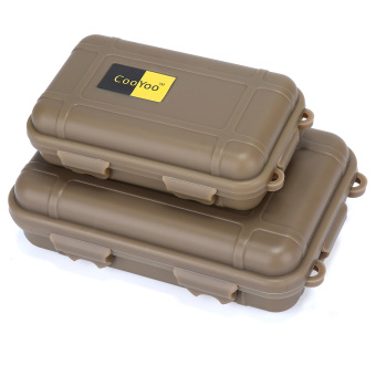 leegoal Dry Storage Box Waterproof Floating Survival Dry Case- Small, Tan Price Philippines
