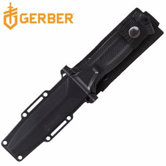 Harga Gerber Black STRONGARM Serrated Fixed Blade Knife Fine Edge Knife for Hunting, Hiking, Survival, Tactical, Industrial and Outdoor Activity