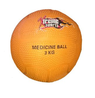 Xtreme Medicine Ball 3kg (Orange) Price Philippines
