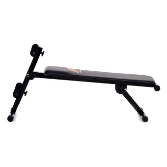 Harga Muscle Power Sit Up Board Flat Adjustable (Black)