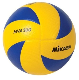 Harga Mikasa MVA 200 Volleyball (Blue/Yellow)