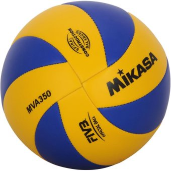 Harga Mikasa MVA 350 Volleyball (Blue/Yellow)