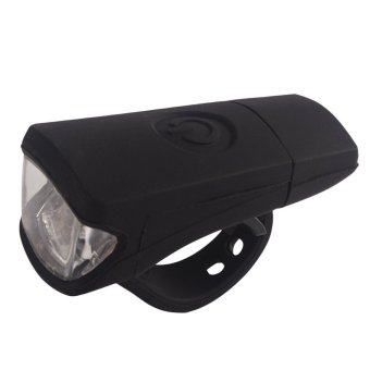 USB Charge Bicycle Bike Light Silica Headlight Riding Flashlight Black Price Philippines