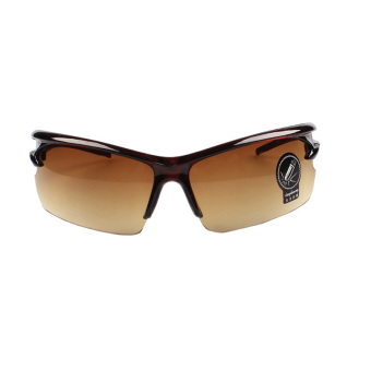 Night-Vision Goggles Sports Sunglasses Polarized Glasses Riding Mirror (Brown) Price Philippines