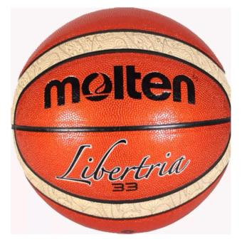 Molten Libertria 33 Rubber Basketball (Brown) Price Philippines