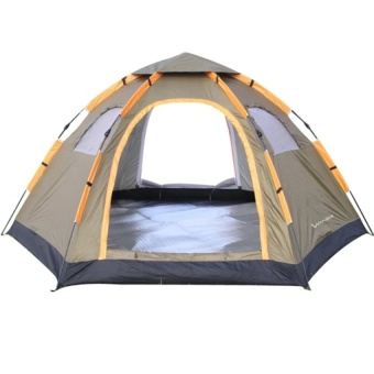Instant Family Tent 6 Person Large Automatic Pop Up Tent   -intl