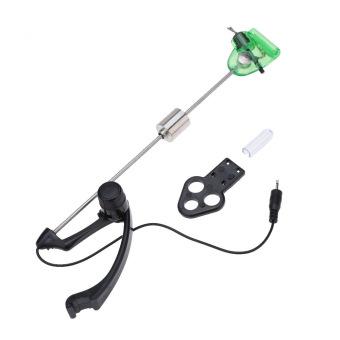 Iron Fishing Bite Alarm Hanger Swinger LED Illuminated Indicator (Green) - picture 2